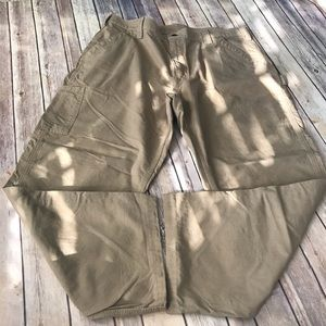 Men's Carhartt cargo work pants